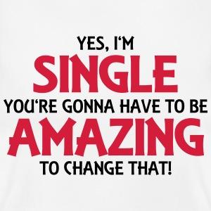 yes-i-m-single-t-shirts-women-s-t-shirt
